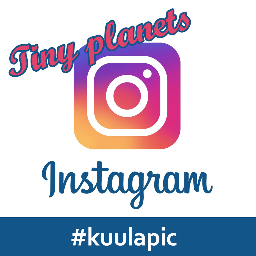 Post tiny planets on Instagram with Kuula