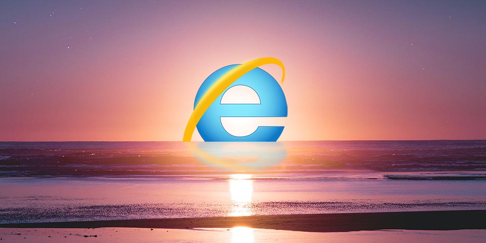 Goodbye to Internet Explorer
