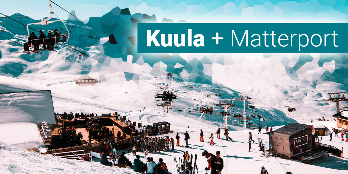 Matterport spaces in Kuula virtual tours