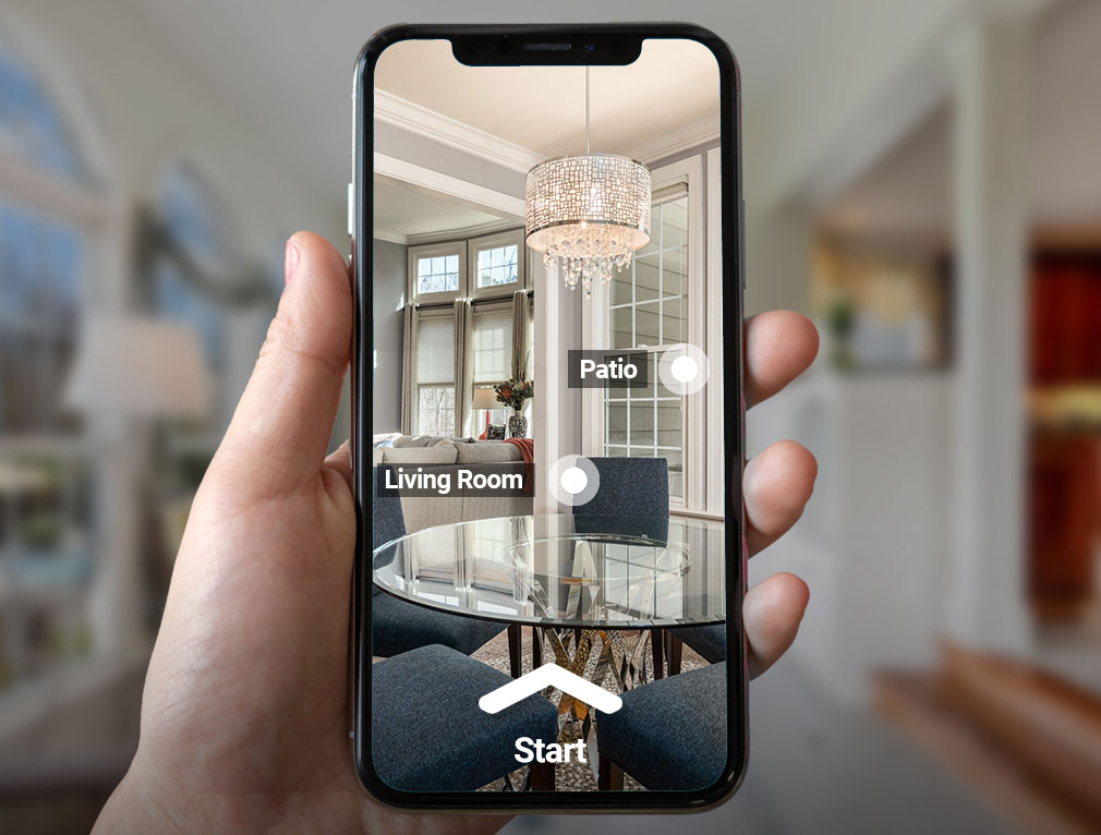 Use your mobile phone to explore Virtual Tours