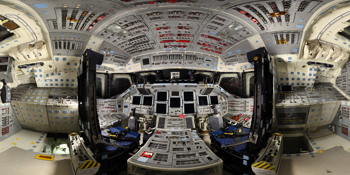 Virtual Tours of Space Shuttles