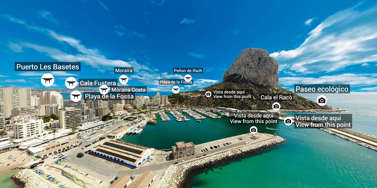 Virtual Tours and aerial photos of Costa Blanca by Thorsten Byszio
