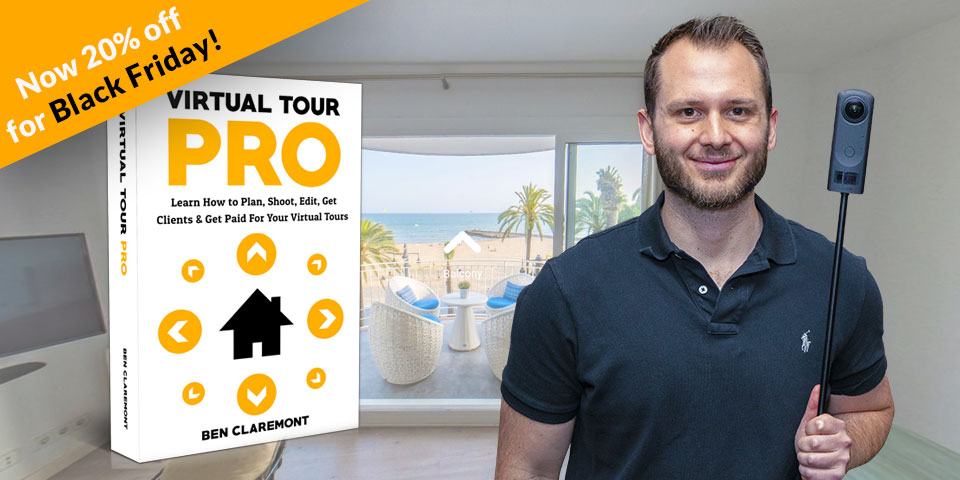 Virtual Tour PRO with Ben Claremont | Black Friday Deal | 20% off