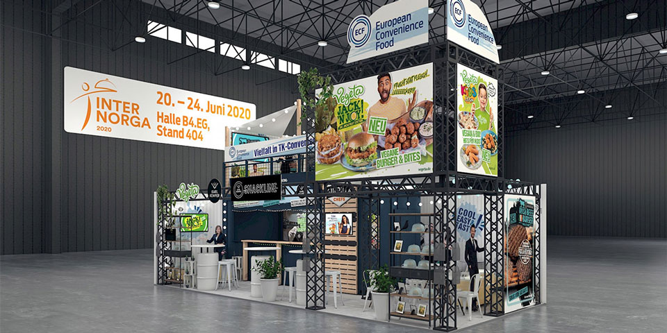 Virtual Trade Fair Booth - a case study