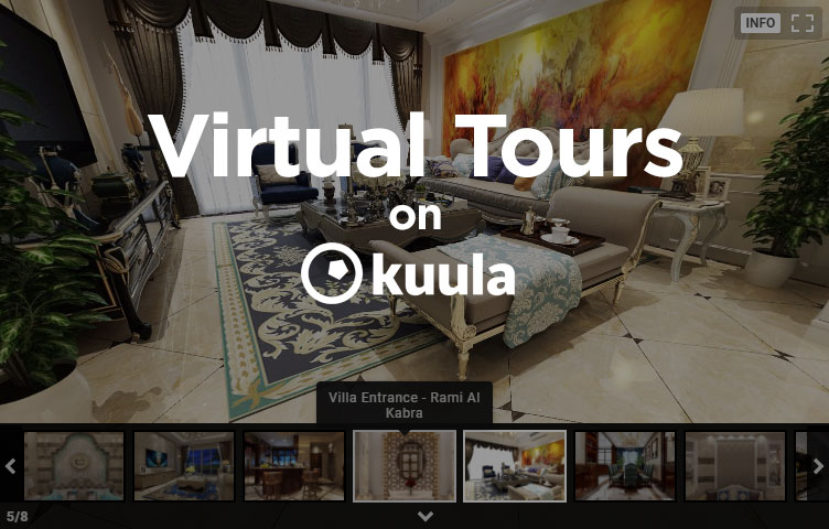 Virtual Tours on Kuula